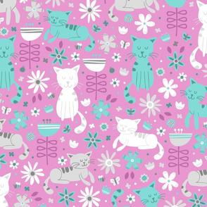 Garden Cats (Rose)