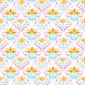 Moroccan Bloomy Scale — Pink