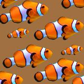 orange fish pattern