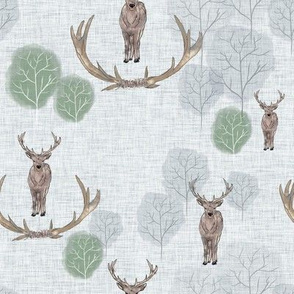 stag forest grey