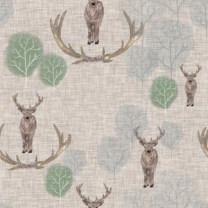 Stag forest taupe