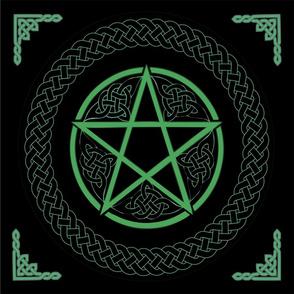 Celtic Pentacle for Satin