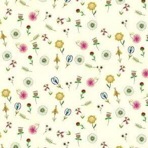 Folky Flowers 4