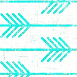 arrow grunge turquoise rotated