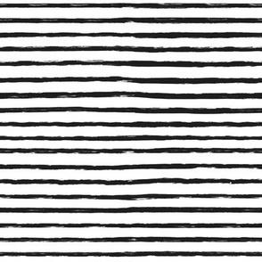 black white grunge brush stripes