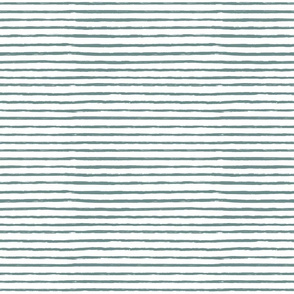 teal brushed stripes