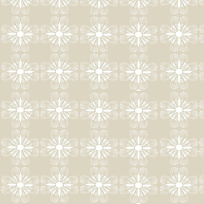 Butterfly Flower- Taupe jPEG