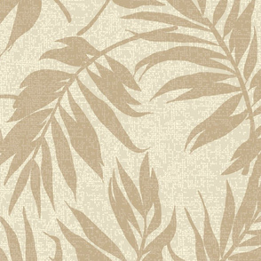 Hawaiian Tropical Vintage Palms - Natural