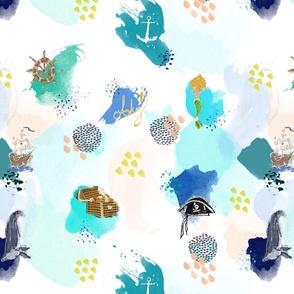 Watercolors Ahoy!