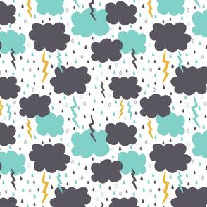 Stormy Sky Pattern