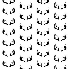 (extra small scale) B&W Antlers - C19BS