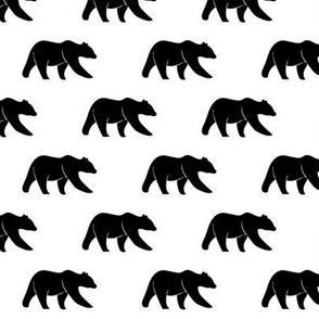 "(1"" scale) black bears C19BS"