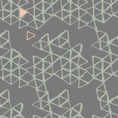 batik geodesic grey-green-peach