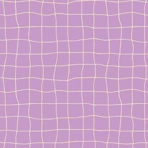 Cheesecloth - Lavender-Cream