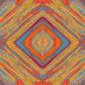 groovy diamond - multicolor bright