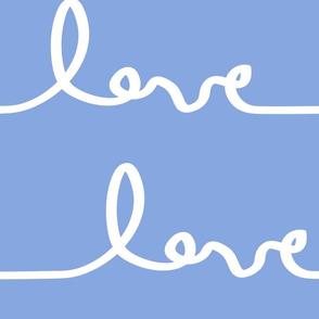 Mega Lovesong in Periwinkle