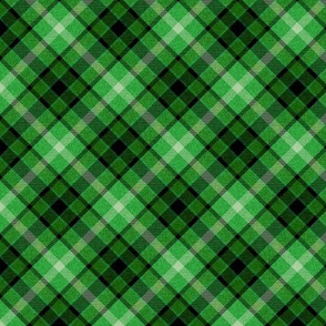 Custom Green Apple Plaid