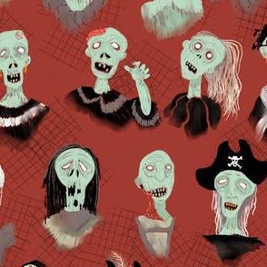 Zombie Pirate Hoard