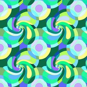 Round blocks Spirale