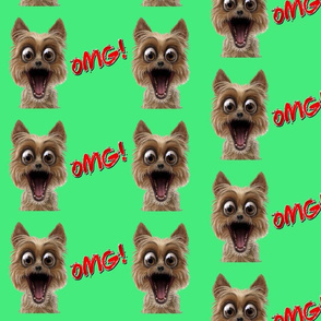 OMG Dog Green