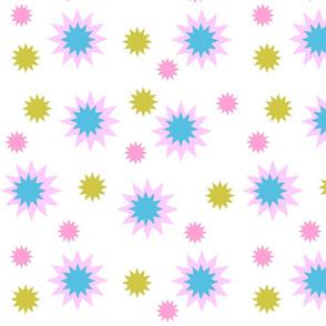 Star Burst! #2 white