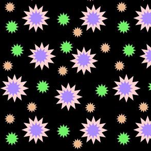 Star Burst! #3 black