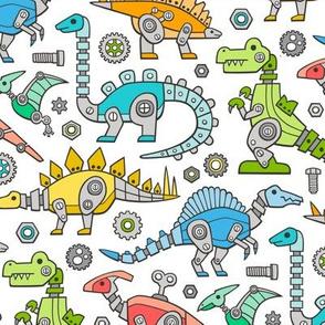 Robot Dinosaurs Multi Colours