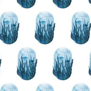 Underwater sea life ocean life water creatures