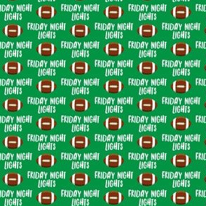 """(1/2"""" scale) Friday Night Lights Football - Green - LAD19BS"""
