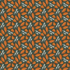 "(1/2"" scale) I am what I yam - green - thanksgiving - fall - LAD19BS"