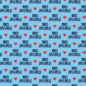 "(1/2"" scale) 100% loveable - blue - LAD19BS"