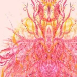 Dragon of Light Abstract Pattern Three