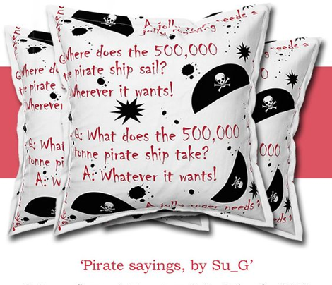 Pirate sayings by Su_G_©SuSchaefer