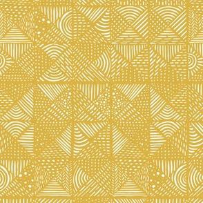 Teppich senf