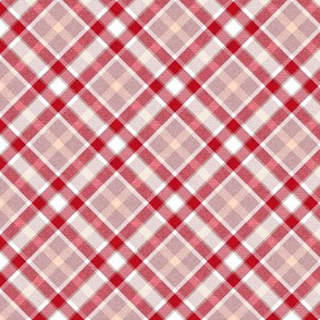 Cherry and Pink Apple Plaid