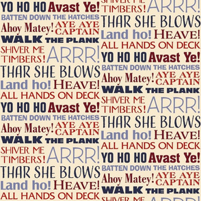 Pirate Exclamations