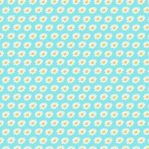 Mini Seafoam green Daisy Dots
