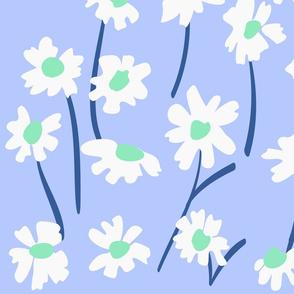 kleine weiße Blumen