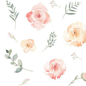 Delicate Floral Pink