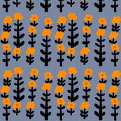 human flowers (orange)