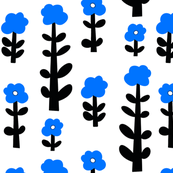 human flowers (blue)