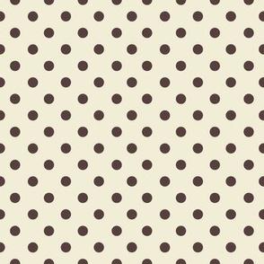 NB - Cream Dots