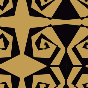 18 X 18 Black * Gold final fixed