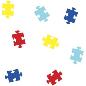 Tossed Puzzle Pieces