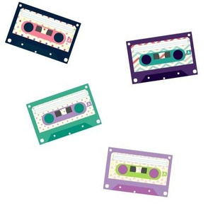 Tossed Pink Cassettes