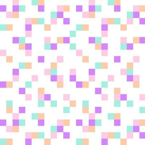 8-bit Texture Pastel Neon