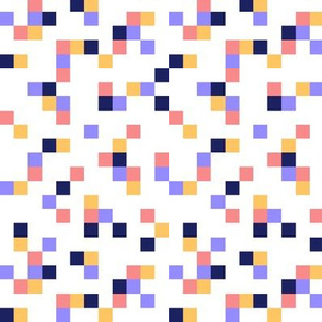 8-bit Texture Pink Purple Yellow