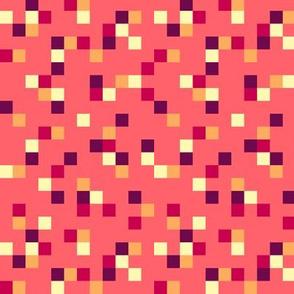 8-bit Texture Coral Nectarine