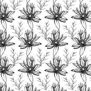 Vintage botanical pattern-06