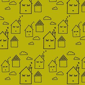 Sleepy Hollow Homes Mustard-ch